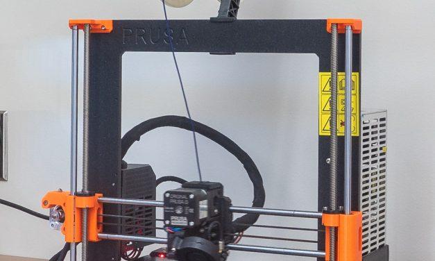 Imprimante 3D Prusa i3 MK3S – C-3PO
