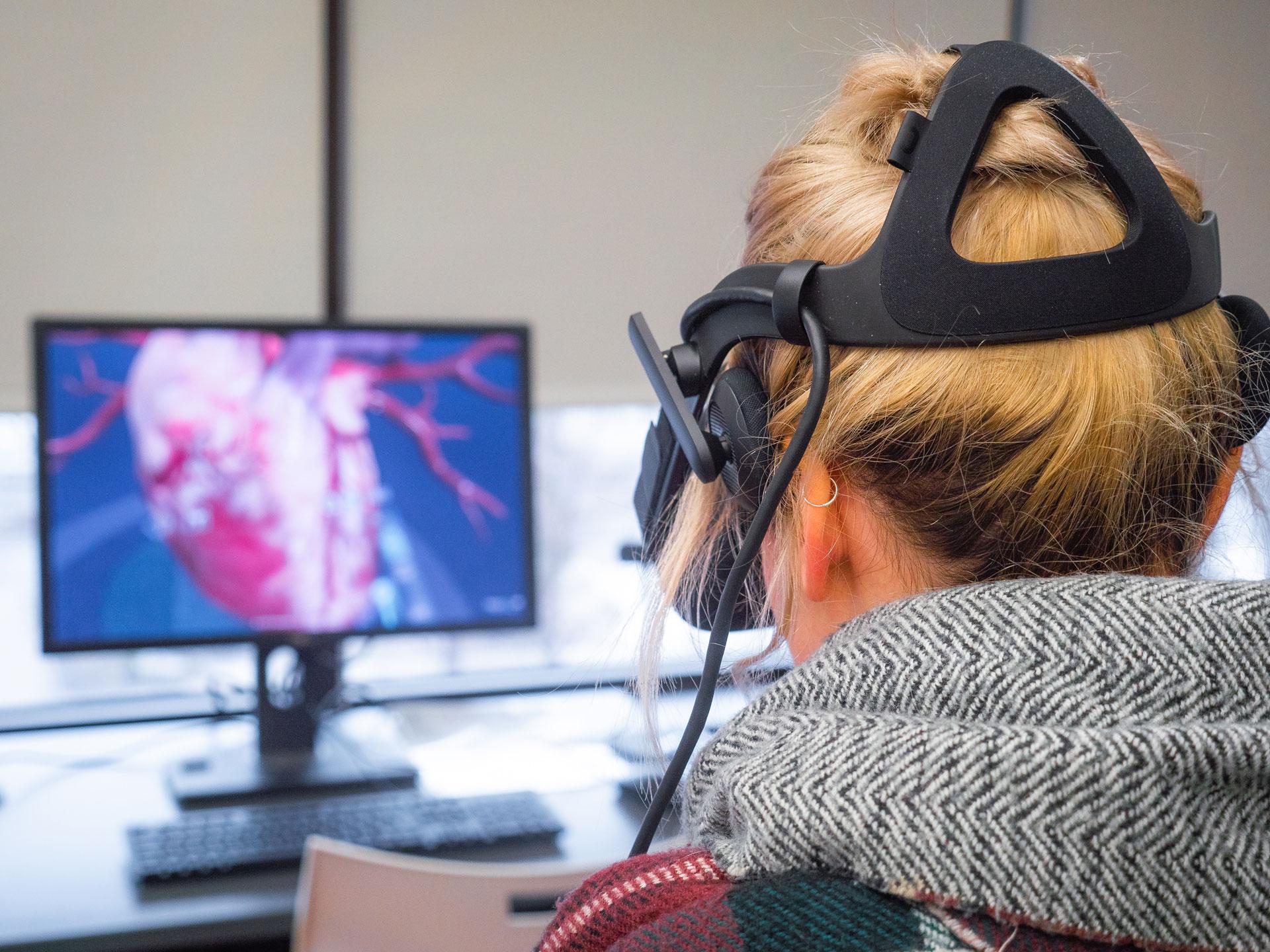 Immersion en réalité virtuelle