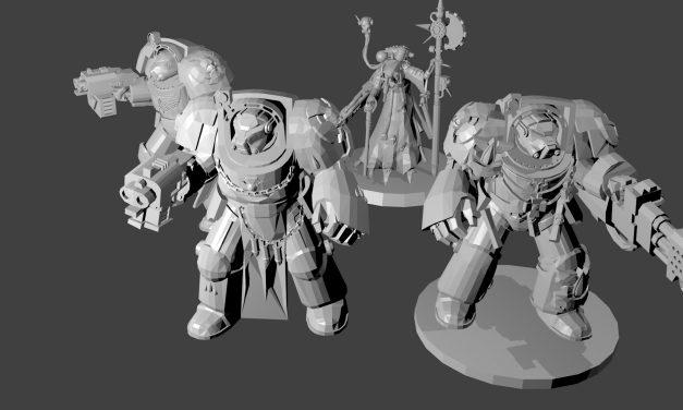 Figurines Soldats de l'Espace