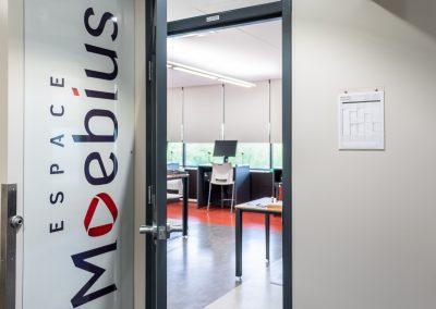 Bienvenue à l'Espace Moebius - D2702, dans la bibliothèque du cégep Édouard-Montpetit