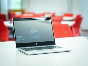 ordinateur portable tactile