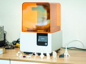 Imprimante résine Solo et modèles 3D